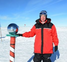 John Walker South Pole